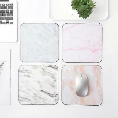 For Mouse Laptop Computer Patterned Marble Mouse Pad Gaming Mat Desktop Mousepad