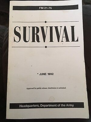 Department Of The Army Survival June 1992