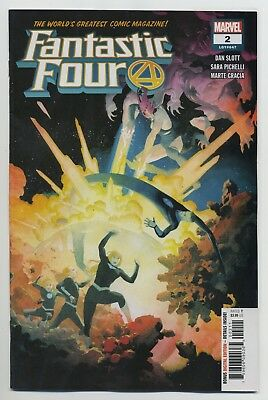 FANTASTIC FOUR #2 MARVEL comics NM 2018 Dan Slott Sara Pichelli