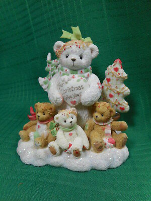 Cherished Teddies Marla  For Christmas Give Your Love