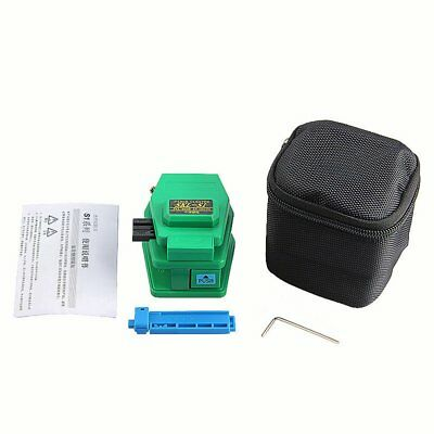 11ps Fiber Optic FTTH Tool Kit Fiber Cleaver Optical Power Meter Tester 1MW RA