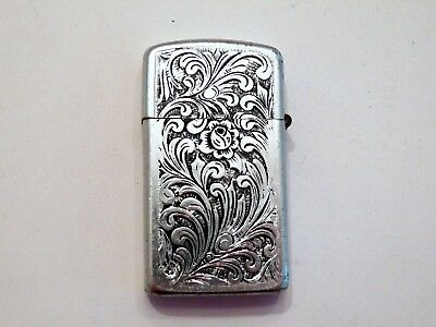 Vintage PARK Engraved Lighter Great Condition 1960's Initials B & J