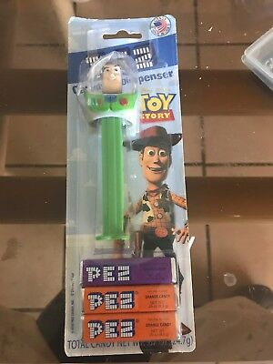 Pez Disney Toy Story - Buzz Lightyear - NIP & Factory Sealed - Candy Dispenser