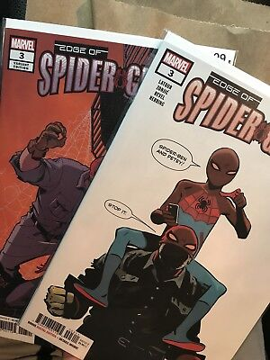 Edge of Spider-Geddon #3 / Cover A & B Cully Hamner Variant Cover