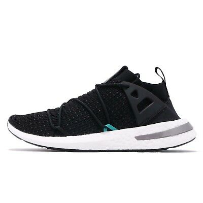 buy popular 608fe 50dc7 adidas Originals ARKYN PK Primeknit Boost Black Silver Men Running Shoes  B28123