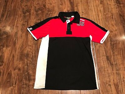 McDonalds Employee Uniform Red Black Small Polo Work Shirt Apparel Collection