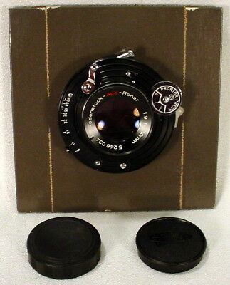 Rodenstock-Apo-Ronar f1.9 240mm View Camera Lens Caps Board
