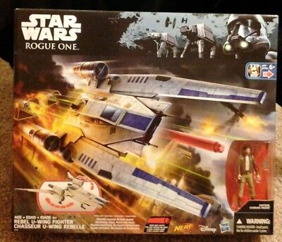 Star Wars Rogue One Rebel U-Wing Fighter Nerf Sealed Mint