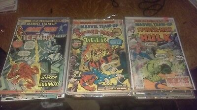 Marvel Comics Marvel Team Up Issues 23-150 Some Missing Annual 1-7 Lot