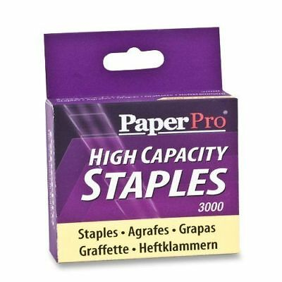 PaperPro High Capacity Staples, 0.38 in., 3000 Count