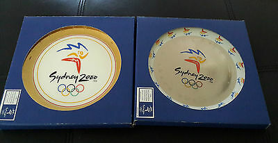 Sydney 2000 Olympics Commemorative Plates by Lush Creations