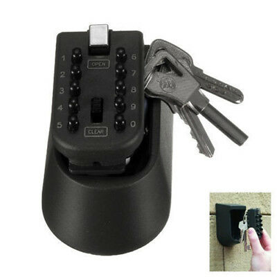 Digit Wall Removable Box Safe Lock Storage Number Car Combination Mounted Key