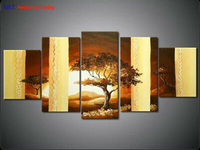 Large Abstract Landscape Oil Painting Hand Painted On Canvas Wall Art Framed 284