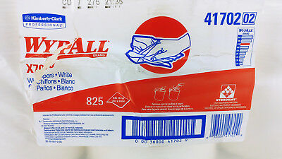 NEW WYPALL 41702 X70 White Wipers 825 sheets (3x275 Pack) Case