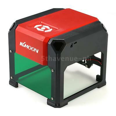 KKmoon K5 3000 mW High Speed ​​Lasergravur Maschine USB DIY Carving Graveur S3J6