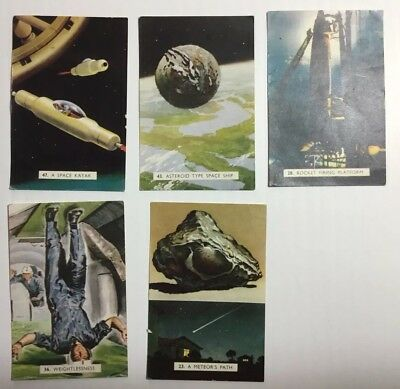 Sanitarium Cards Destination Moon Assorted 5 Cards