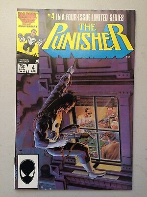 Punisher Limited Series #4 (1986) NM/MT 9.8 - NO RESERVE