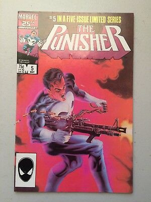 Punisher Limited Series #5 (1986) VF/NM 9.0 - NO RESERVE