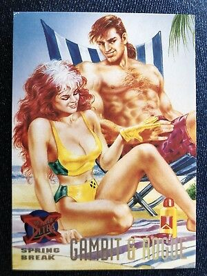 1995 Fleer Ultra Marvel X-Men Card #142 Gambit & Rogue