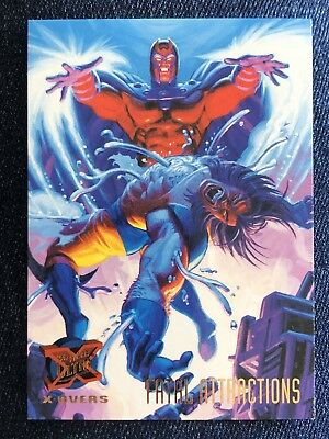 1995 Fleer Ultra Marvel X-Men Card #121 Fatal Attractions