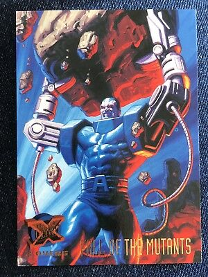 1995 Fleer Ultra Marvel X-Men Card #120 Fall Of The Mutants