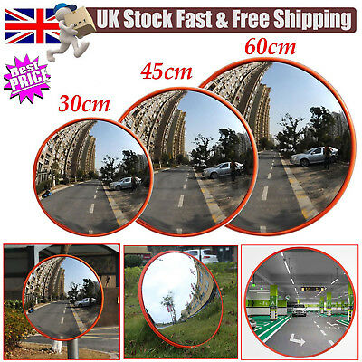 30cm-60cm Traffic Driveway Wide Angle Security Safety Curved Convex Road Mirror