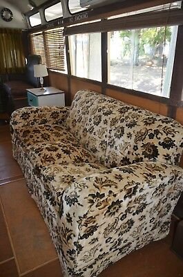Antique Art Deco Club Lounge Sofa
