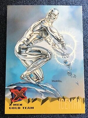 1995 Fleer Ultra Marvel X-Men Card #103 Iceman