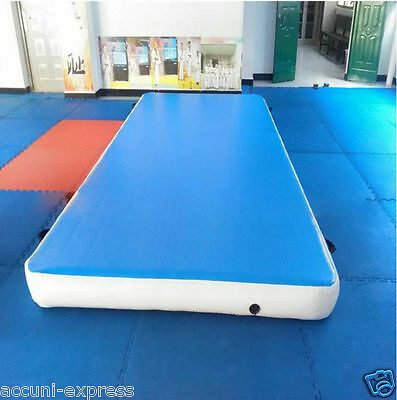 Inflatable Mat Gym Mat Air Tumbling Track Gymnastics Cheerleading with Pump ss
