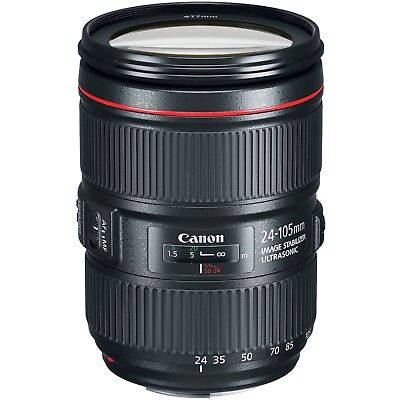 BRAND NEW Canon EF 24-105mm f/4L IS II USM Lens IN WHITEBOX UK RM DELIVERY
