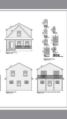 """Plan House """"Cleveland"""" 44'x24' Pdf(15 Pages) To Email"""