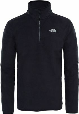 THE NORTH FACE TNF 100 Glacier 1/4 Zip T92UARJK3 Polaire Pull-Over pour Homme