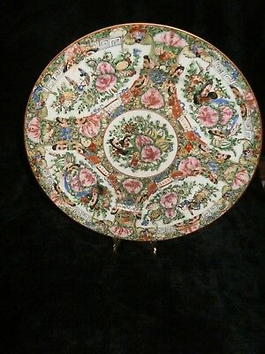 Chinese Famille Verte Plate Pre WWII C1930