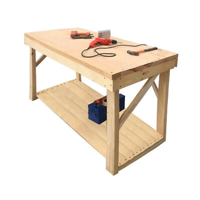 Tremendous 5Ft 6Ft 7Ft 8Ft Wooden Work Bench Table Hand Made Heavy Pabps2019 Chair Design Images Pabps2019Com