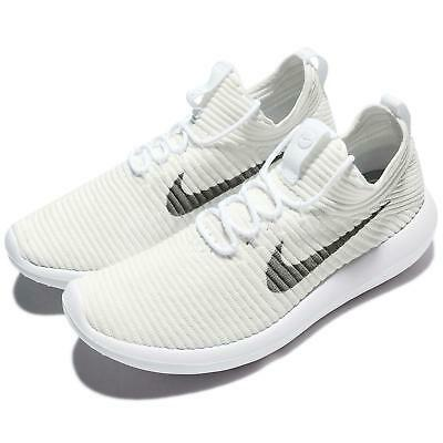 finest selection 8205c f9f19 NIKE WMNS ROSHE Two 2 Flyknit V2 White Grey Women Shoes Sneakers 917688-100