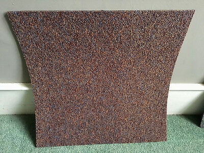 Great Condition 500 Heavy Duty Red Heuga Carpet Tiles- No Reserve