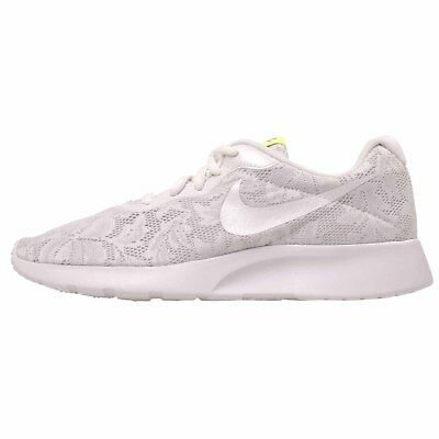 Nike Wmns Tanjun Eng Casual Womens Shoes White Platinum 902865-100