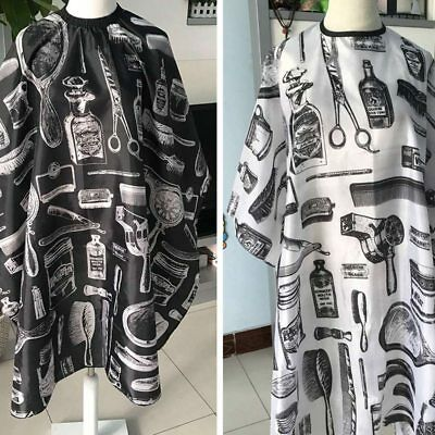 Hair Cutting Cut Cape Pro Salon Hairdressing Hairdresser Gown Barber Cloth Apron