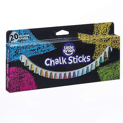 Little Brian Chalk Paint Sticks - 20 Assorted Colours
