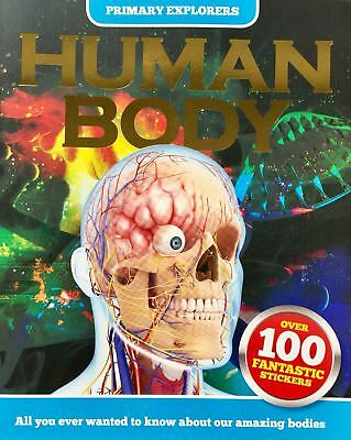 Human Body   Know About Your Body   100 Stickers   Age 3   Children's Book   New