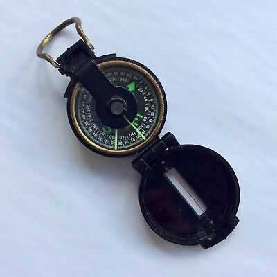 Vintage Engineer Directional Compass Lensatic