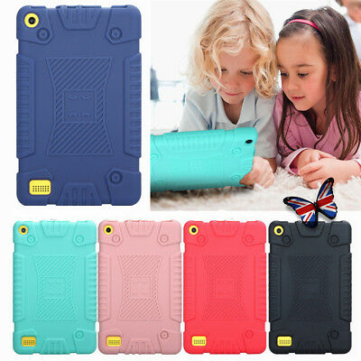 """Shockproof Heavy Duty Case Cover For Amazon Kindle Fire 7"""" HD 8 8"""" 2017 Tablet"""
