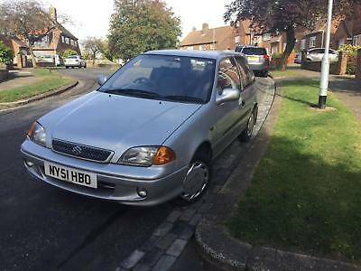 Suzuki Swift 1.0 GLS SE 2002 Silver 77,000  Miles From New Long MOT