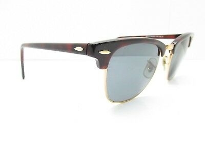 Ray-Ban RB 3016 Clubmaster W0366 Lunettes de Vue Cadres 49 21 140 or Tortue 676806979b43