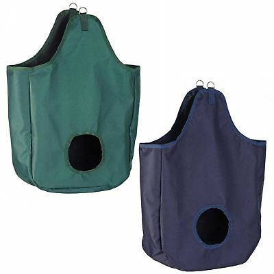 Cottage Craft Equine Hay Large Feed Bag With Front Hole Horse Feeding Equipment