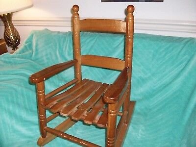 Youth Wooden Rocking Chair.
