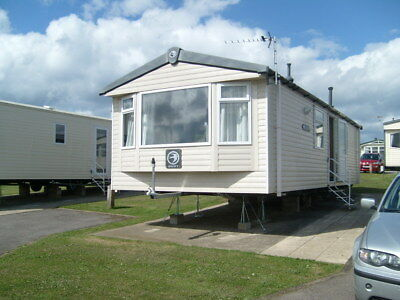 Swift Burgundy Static Caravan 33 X 12 Ft, At Blue Dolphin ( Reduced )