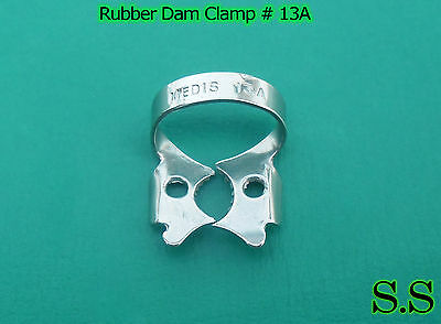 12 Pc Endodontic Rubber Dam Clamp #13A