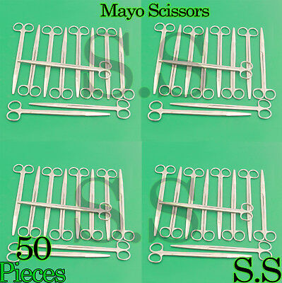 """50 Pieces Of Mayo Dissecting Scissors 10"""" Str Surgical Instruments"""