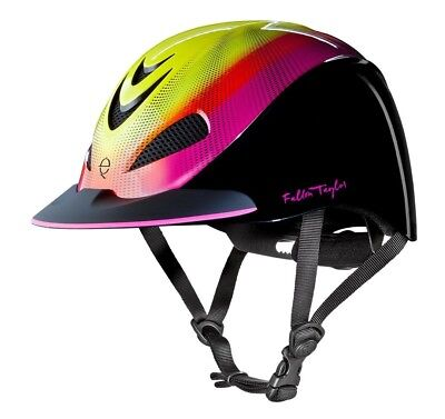 (Medium, Neon Flare) - Troxel Fallon Taylor Performance Helmet. Brand New